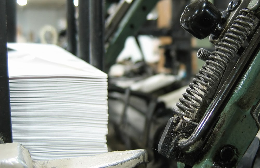 Letter shop mailing services