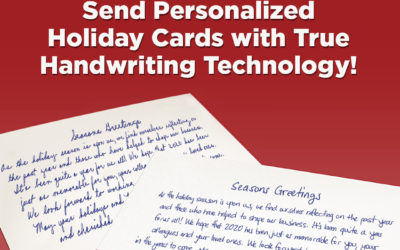 Spread Some Cheer with a Handwritten Holiday Card This Year